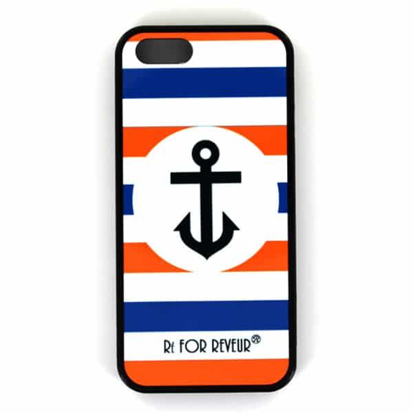Coque smartphone – Ré FOR REVEUR® – Ancre Orange