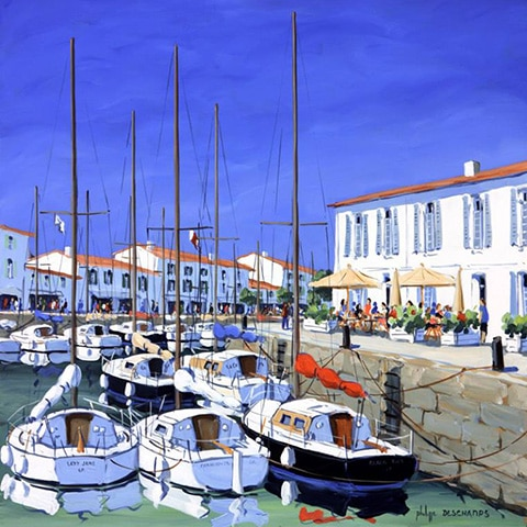 peintre philippe deschamps ile de re